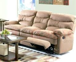 Reclining Sofa With Console by Loveseat Dual Reclining Loveseat With Console Microfiber Double
