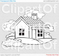 farm house outline clipart