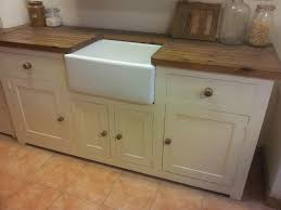 freestanding kitchen sink unit kitchen sink unit free standing solid pine with belfast sink and