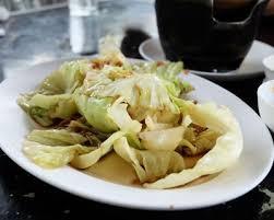 cuisiner du choux chinois recette salade de chou chinois au haddock