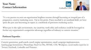 Resume Linkedin Url Getting Your Foot In The Door 3 Ways To Break Into A New Career