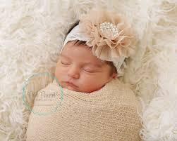lace headbands chagne lace headband newborn lace headbands infant lace