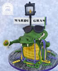 mardi gras alligator terrific mardi gras cakes between the pages