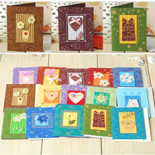 handmade small greeting cards for christmas valentine kids