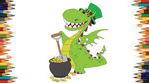 dragon coloring pages for kids dragon coloring book part 03