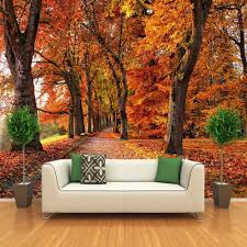 autumn leaves luxury wallpaper photo wall mural for living room autumn leaves luxury wallpaper photo wall mural for living room sofa tv background wall papers home decor 3d vinyl sticker roll in wallpapers from home