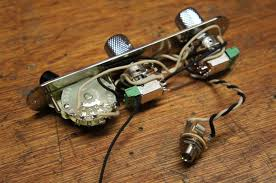a customised 9 tone telecaster wiring harness ready for shipping