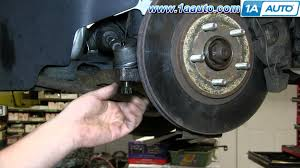 how to install remove replace outer tie rod 2001 05 chrysler