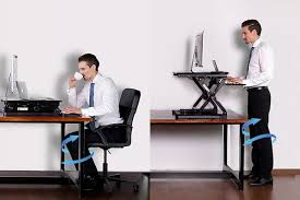 Standing To Sitting Desk How Can Sit Stand Desks Help With Arthritis By Chronicbodypain