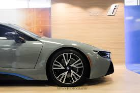 porsche nardo grey bmw i8 wrapped in nardo grey