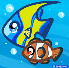 how to draw fish for kids step by step animals for kids for kids
