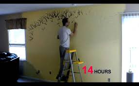 time lapse of me painting a family tree youtube