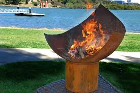 Unique Fire Pits by The Chalice Fire Pit By Unique Fire Pits Ryde