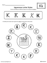 letter k worksheets letter idea 2018