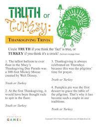 or turkey trivia