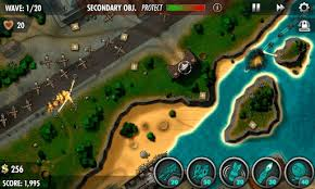 Andriod Games Room - ibomber defense pacific free download for android android games room