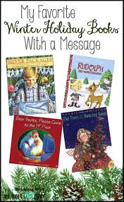 my favorite winter holiday books with a message all about 3rd grade