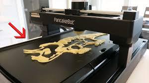 hide printer print your breakfast new 3d pancake printer youtube