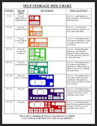 regal storage unit size guide