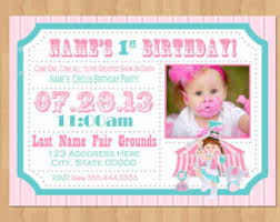 circus party package carnival birthday party package signs