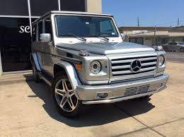 mercedes safari suv 2005 mercedes g class awd g 55 amg 4matic 4dr suv in houston