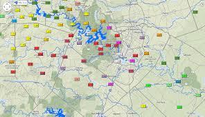 Rainfall Totals Map Dangerous Flash Flooding Hits Texas Weathernation