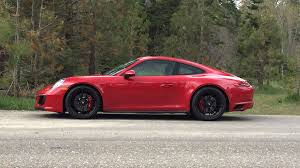 red porsche truck 2018 porsche 911 carrera gts test drive review not just another