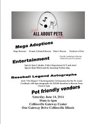 Wood Show In Collinsville Il by All About Pets Expo Gateway Center Collinsville Il Saturday