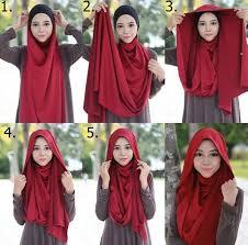 tutorial turban sederhana blog seputar fashion hijab terkini tips kecantikan teknik