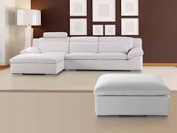 canapé et pouf assorti pouf adrano accessoires canapé cuir luxesofa