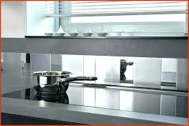 plaque murale inox cuisine inox autocollant pour cuisine inspirational plaque en inox cuisine