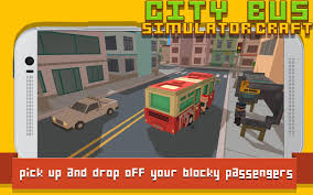 minecraft car real life city bus simulator craft android apps on google play