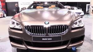 bmw 6 series interior 2016 bmw 6 series 650i convertible exterior and interior