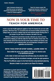 teach for america sample resume destination teach for america building leadership mastering the