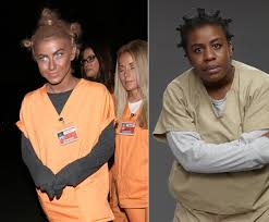 Orange Black Halloween Costumes Julianne Hough Photos Stars Accused Cultural Appropriation