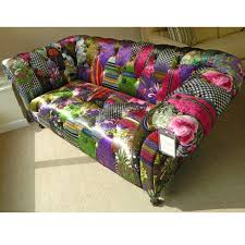 Chesterfield Patchwork Sofa Patchwork Chesterfield Harlequin Leather Sofa And Chairs Within