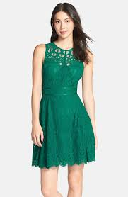 adelyn rae sleeveless lace fit u0026 flare dress nordstrom winter