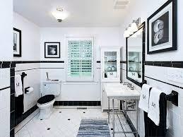bathroom white tile bathroom floor 12 black and white bathroom