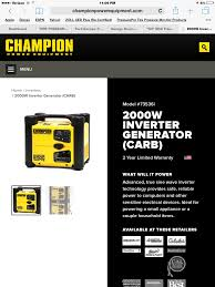 alternative options to onan generators for class a motorhomes