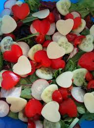 Valentine Dinner Table Decorations 14 Healthy Valentines Day Treat Ideas Salad Holidays And Food