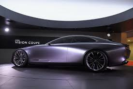 mazda supercar mazda vision concept astonishes with its supercar like design