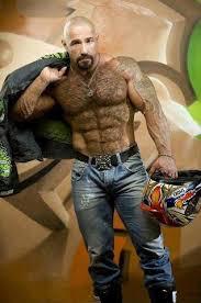 drawing PORTRAIT men ART muscle hairy bear man model male nude   eBay Hairy Bear  Men  Beards  NYPD