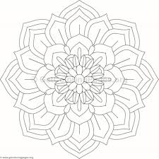flower mandala coloring pages 98 u2013 getcoloringpages org