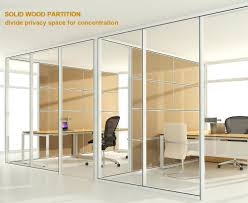 office design aluminum frame office partition aluminum office