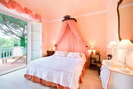 peach paint color for bedroom ideas green accents in a peach