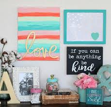 decoart blog crafts love word art canvas