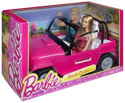 vintage barbie jeep barbie cjd12 beach cruiser and ken doll ebay