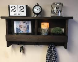 Shelf Hooks Entryway Entryway Coat Hooks Etsy