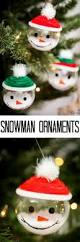 Easy Homemade Christmas Ornaments by 45 Personalized Diy Christmas Ornament Ideas For Creative Juice