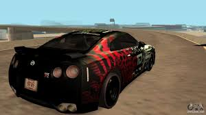 nissan gtr gta v nissan gtr r35 gtr clan for gta san andreas